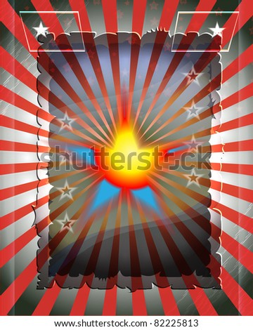 grey background for a poster - stock vector