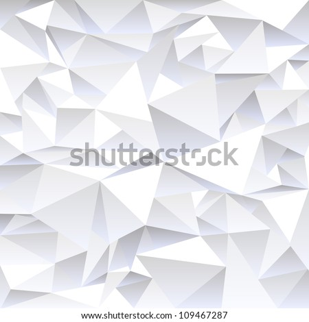 Grey crumpled abstract background.Vector eps10