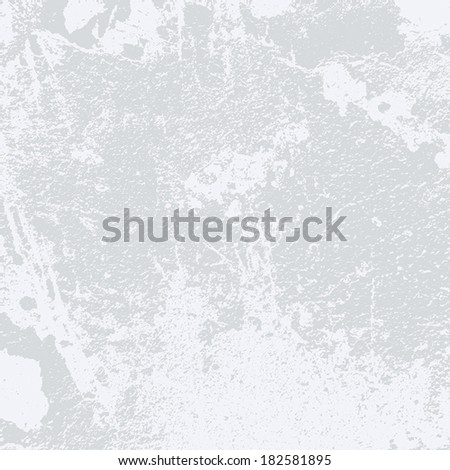 Grey Grunge Background for your design. EPS10 vector. - stock vector