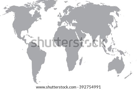 World map outline graphic style background stock vector 510215440 grey political world map illustration gumiabroncs Choice Image
