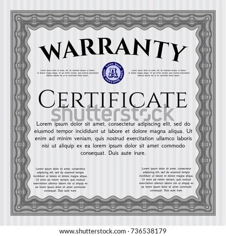 Warranty Certificate Template 9 Free Word Pdf 6144551 Archeryinfofo