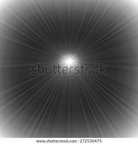 Grey Wave Background. Grey Star Bust. Sun Rays Background.