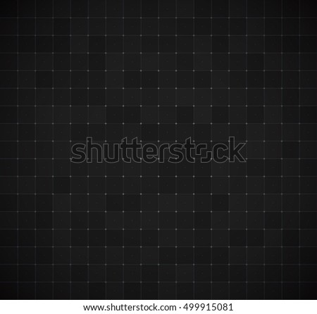 Grid for Virtual Technology Futuristic User Interface HUD. Vector Background.