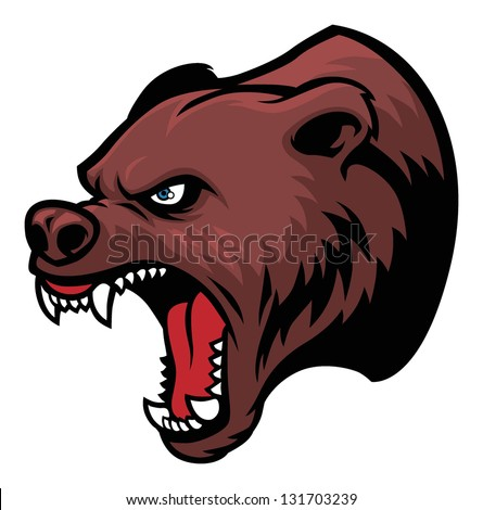 grizzly bear head Grizzly Bear Face Logo