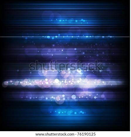 growing background in blue - stock vector