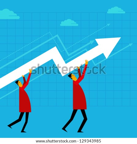 growth concept - stock vector