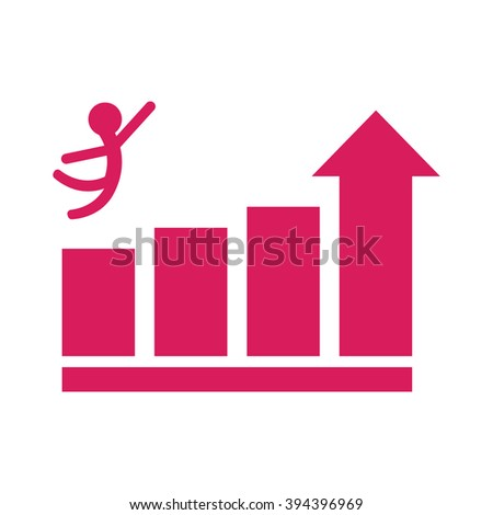 Growth icon, Growth icon eps10, Growth icon vector, Growth icon eps, Growth icon jpg, Growth icon picture, Growth icon flat, Growth icon app, Growth icon web, Growth icon art, Stick figure, Business - stock vector