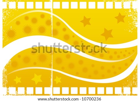 Grunge abstract background theme - stock vector