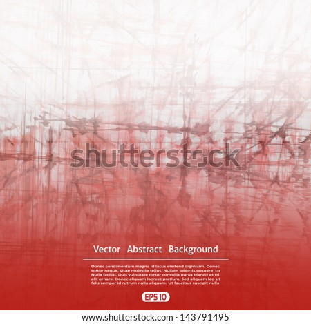 Grunge background. Vector abstract background. - stock vector