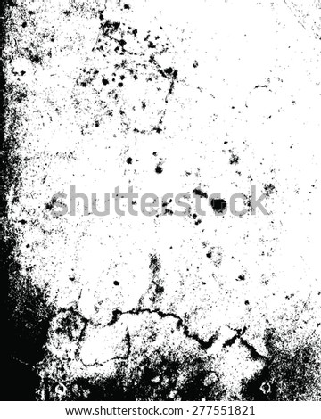 Grunge black and white background. EPS10 vector
