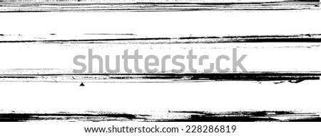 Grunge Borders . Grunge Dividers . Grunge Brushes Collection . Retro background. Vintage Background . Vector Elements . Distress Texture . Texture Background . Scratch Stripes . Grunge Edge Set  - stock vector