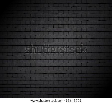 Grunge brick wall. Vector background. - stock vector