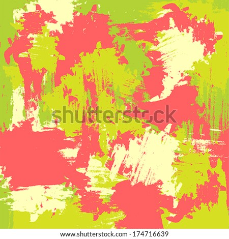 grunge colored vector background