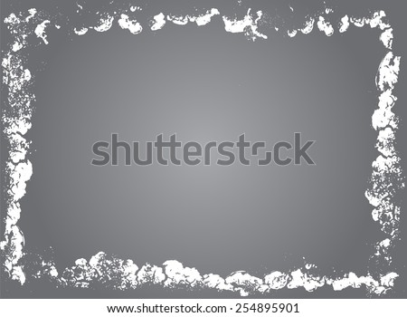 Grunge frame - abstract texture.Grunge background.Vector design template,
