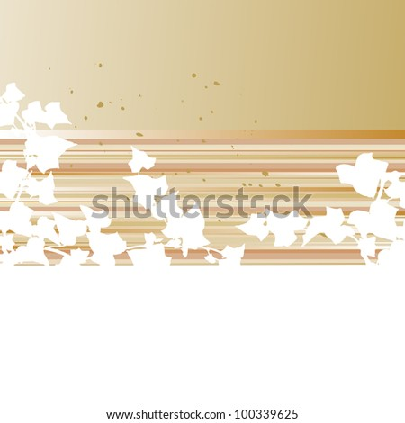 Grunge frame and border series -  vector - stock vector