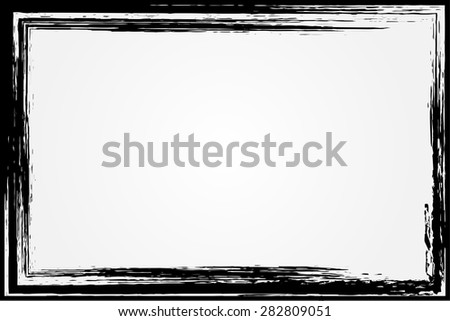 Grunge frame.Distress frame.Abstract vector template,