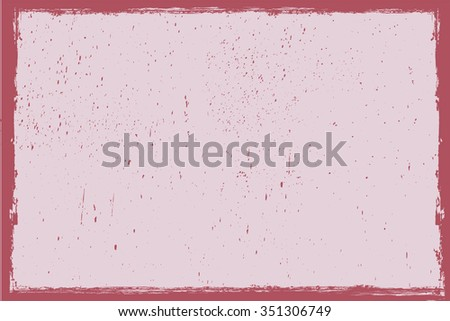 Grunge frame.Grunge vector background. - stock vector