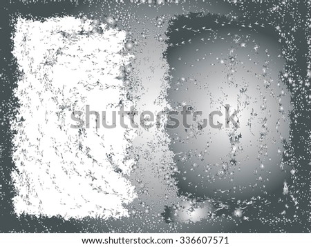 Grunge frame texture. vector template background