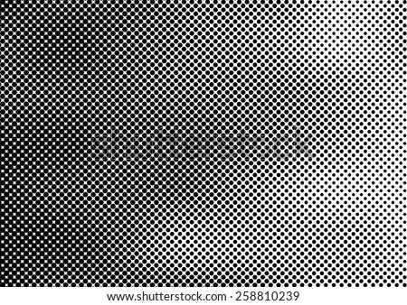 Grunge halftone dots vector texture background . Pixel background Texture.  - stock vector