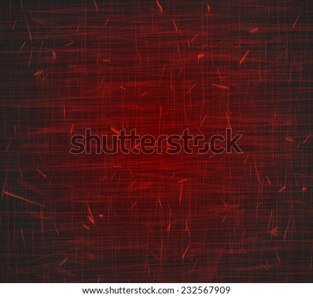 Grunge of red texture background vector - stock vector