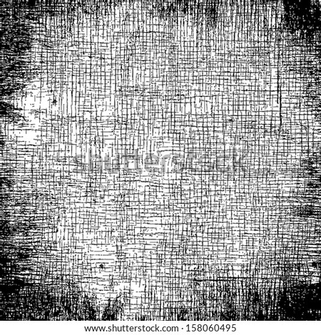 Grunge overlay texture for your design. EPS10 vector. - stock vector