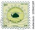Grunge rubber stamp / Vector grunge air mail / Stamp design - stock vector