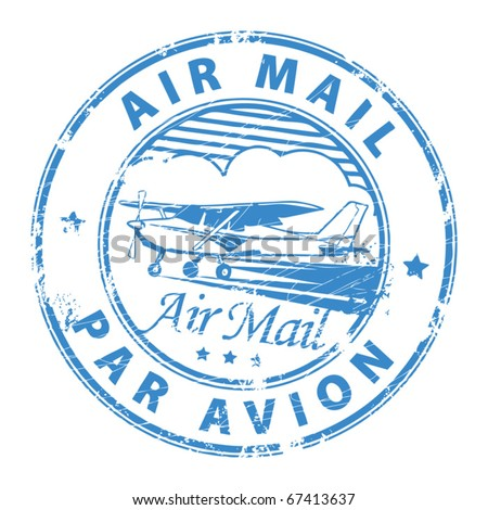 Air Mail Stamp Stock Images, Royalty-Free Images & Vectors ...