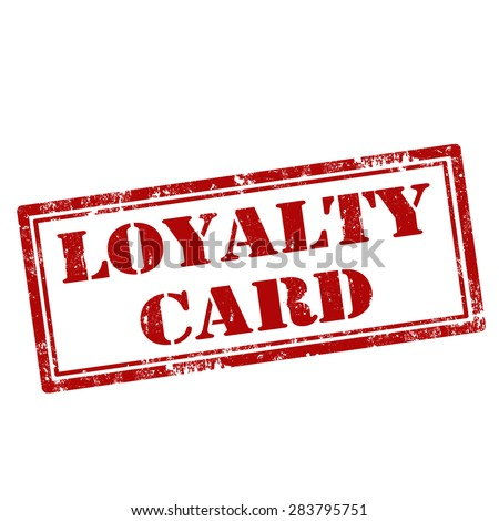Loyalty Card Stock Photos Images Amp Pictures Shutterstock