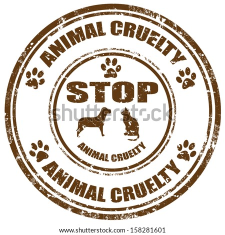 stop cruelty to animals essay While animal cruelty statutes serve as the most important state laws on the books to protect animals, two federal laws seek to regulate the way that that animals are used in agriculture and science.