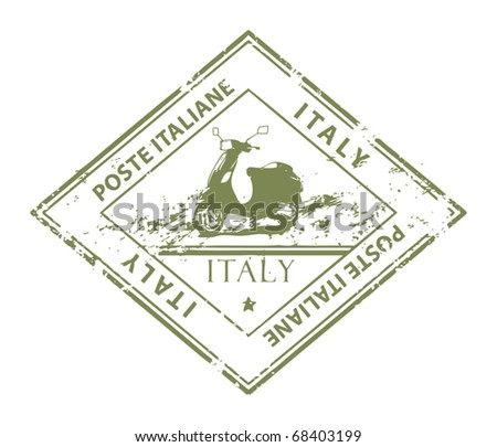 Italy stamp stock images royalty free images vectors for Poste italiane