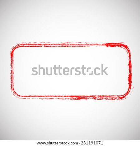 Grunge Rubber Texture Stamp . Distressed Stamp Texture . Post Stamp Collection . Vector Illustration . - stock vector