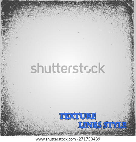 Grunge Scratch Texture. Distressed Stamp Vector Background. - stock vector