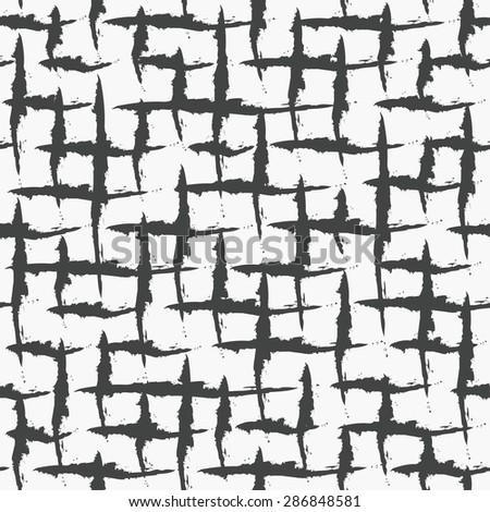 grunge seamless pattern. vector illustration - stock vector