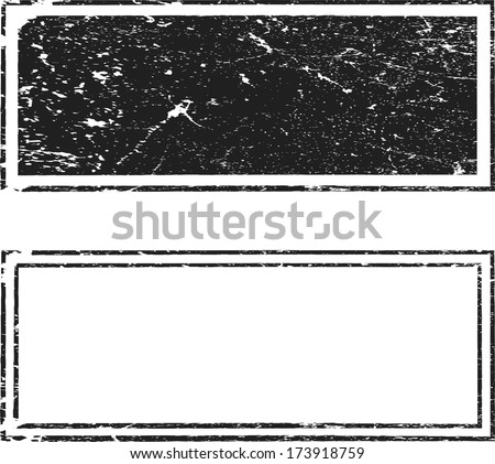 Grunge stamps - stock vector