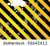 Grunge stripe background, vector illustration - stock vector