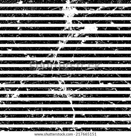 Grunge stripes - stock vector