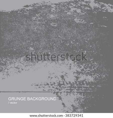 Grunge texture background. Abstract vector template. - stock vector