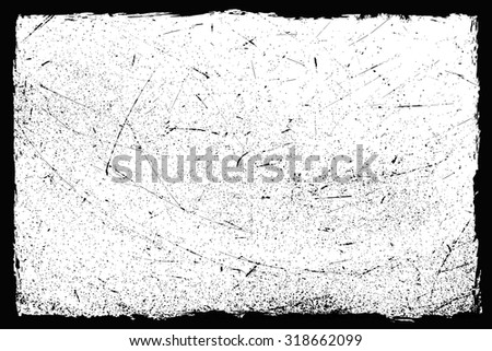 Grunge texture.Grunge frame.Distress background.Vector illustration. - stock vector