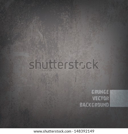 grunge textured background - stock vector