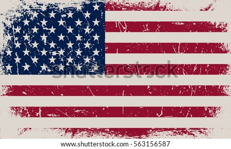 grunge usa flag american flag vector stock vector royalty free