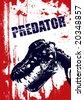 Grunge Vector Background - stock photo