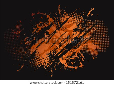 Grunge vector background eps8 - stock vector