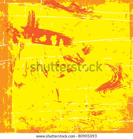 Grunge vector blots background