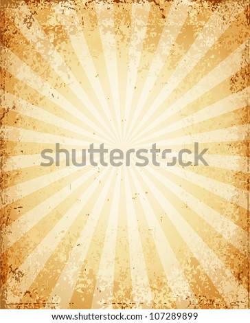 Grunge vintage background - stock vector