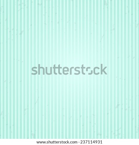 Grunge vintage background for romantic invitation card or label with artistic stains and strips and space for text in mint color - stock vector