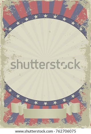 grunge vintage background with decorative frame