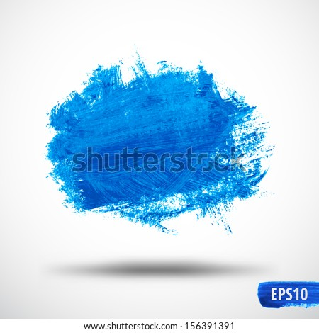 Grunge Watercolor Abstract background. - stock vector