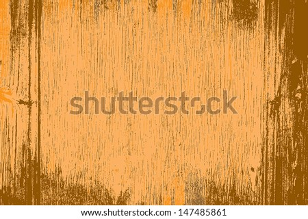 Grunge wood background, color grainytexture. EPS10 vector. - stock vector