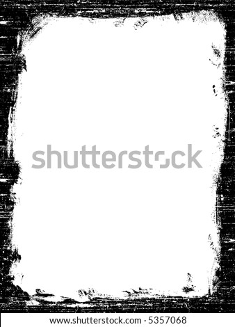 Grunged Border -  Highly Detailed vector grunge graphic. - stock vector