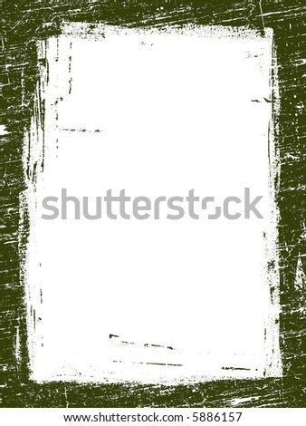 Grunged Border 10 -  Highly Detailed vector grunge graphic. - stock vector